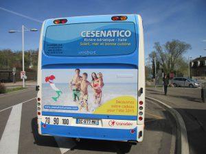 Affichage cul de bus
